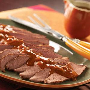 Slow-Cooked Tender Beef Brisket Recipe