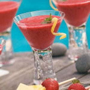 Lemon Raspberry Smoothies Recipe
