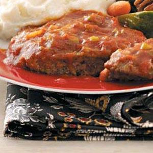 Saucy Beef Patties Recipe