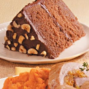 Hazelnut Cocoa Cake Recipe