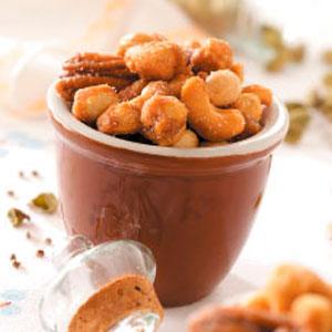Seasoned Mixed Nuts Recipe