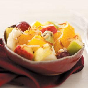 Coconut Tropical Fruit Salad Recipe