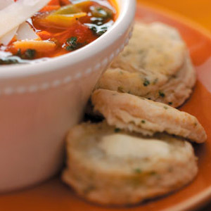 Chive & Lemon Biscuits Recipe