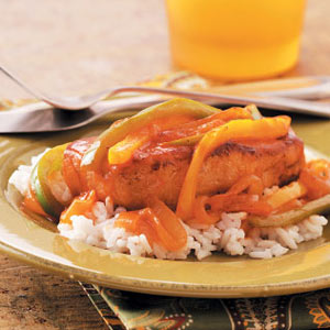 One-Skillet Creole Pork Chops Recipe