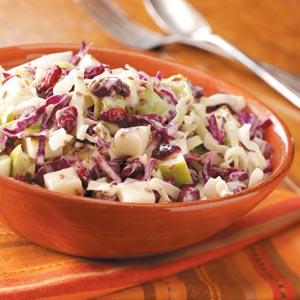 Thanksgiving Cabbage Salad
