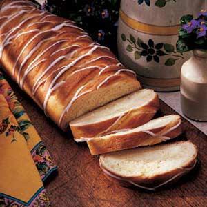 Lemon Cheese Braid Bread Recipe