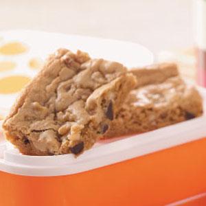 Dark Chocolate Orange Blondies Recipe