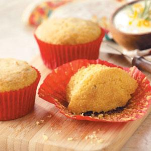 Rosemary-Orange Corn Muffins Recipe