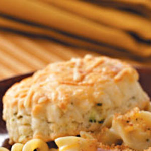 Parmesan & Chive Biscuits Recipe