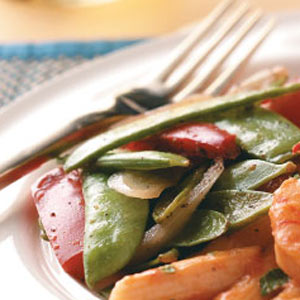 Pea Pods and Peppers Recipe