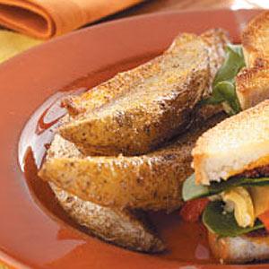 Cajun Potato Wedges Recipe