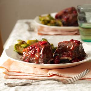 Cranberry Short Ribs Recipe