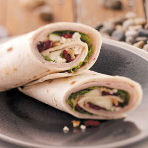 Gourmet Deli Turkey Wraps Recipe