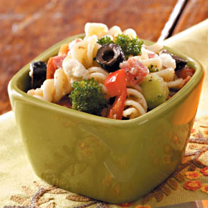 Hearty Pasta Salad for Two Recipe