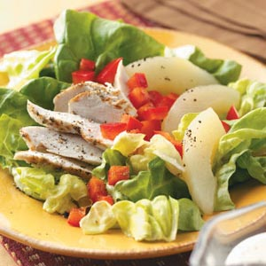 Chicken and Pear Salad Recipe