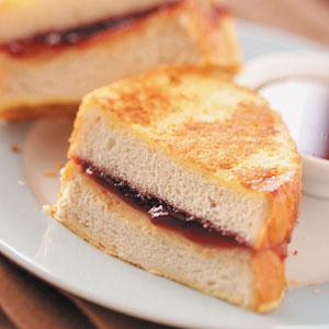 PBJ-Stuffed French Toast Recipe