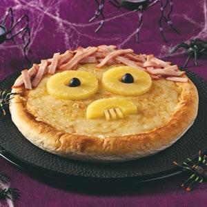 Spooky Pizza Recipe
