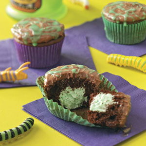 Slime-Filled Cupcakes Recipe
