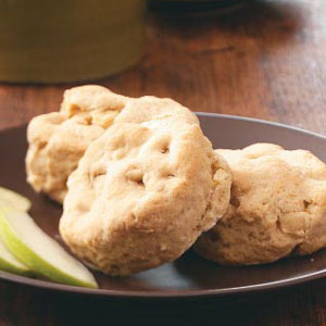 Buttery Apple Biscuits Recipe