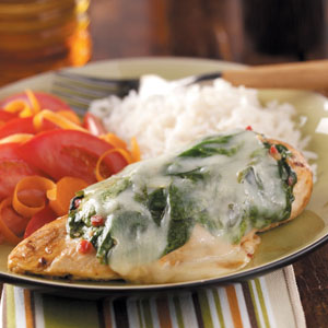 Savory Spinach Chicken