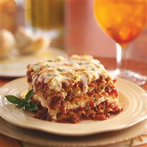 Lasagna Deliziosa Recipe