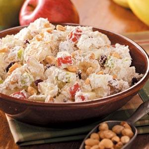 Fruit & Nut Salad Recipe