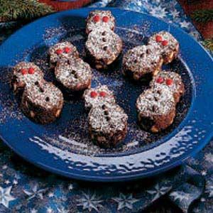 Winter Wonderland Snowmen Brownies Recipe