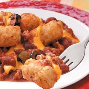 Cheesy Chili Tots Recipe