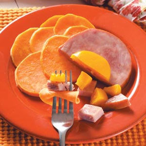 Ham & Sweet Potato Packets Recipe