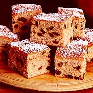 Raisin Spice Cake Recipe