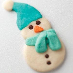 Butter Snowmen Cookie