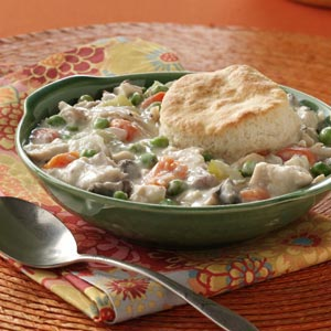 Chicken and Biscuits Potpie Recipe