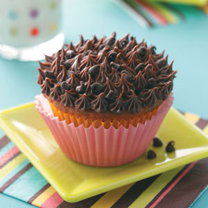 Cookie Dough Cupcakes with Ganache Frosting Recipe