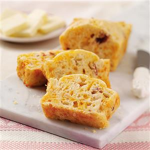 Apple-Bacon Mini Loaves Recipe