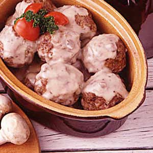 Savory Meatballs Recipe