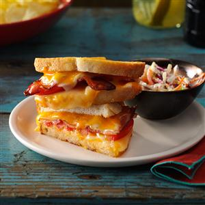 Bacon & Cheese Sandwiches Recipe
