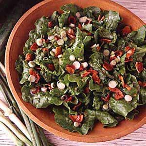 Tossed Wilted Lettuce Salad Recipe