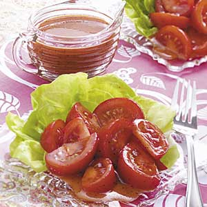 French Dressing with Tomatoes Recipe
