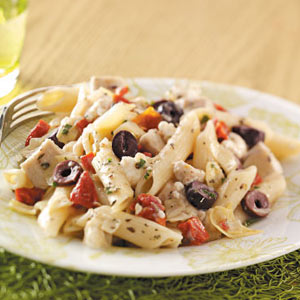 Makeover Greek Chicken Penne Recipe