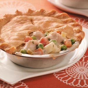 Make-Ahead Turkey Potpie