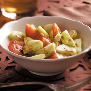 Balsamic Vegetable Salad Recipe