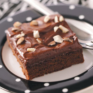 Almond Brownies Recipe