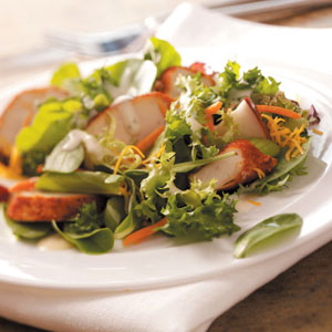 Ranch Chicken and Cheddar Salad Recipe