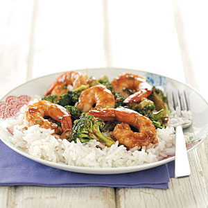 Hoisin Shrimp & Broccoli Recipe