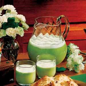 Leprechaun Lime Punch Recipe