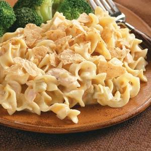 Southwest Tuna Noodle Bake Recipe