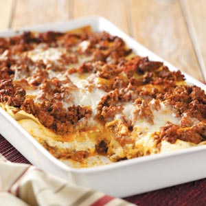 Six-Cheese Lasagna Recipe