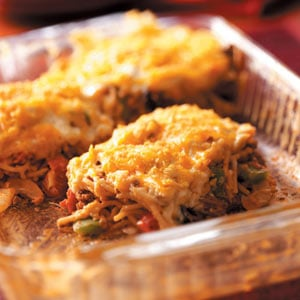 Loaded Spaghetti Bake Recipe