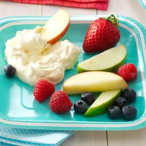 Lemony Fruit Dip Recipe