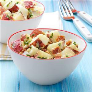 Quick Bacon Potato Salad Recipe